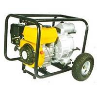 Мотопомпа FORTE FPTW30C бензиновая, мощность 6,5 л.с., производительность 450 л/мин., для грязной воды.