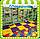 Модульное напольное покрытие для детской комнаты, 12 элементов, фото 5