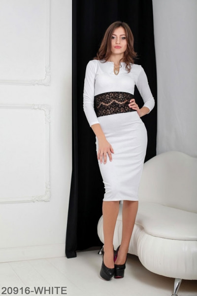 Женское платье Meredith 20916-WHITE