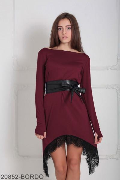 Женское платье Stima 20852-BORDO