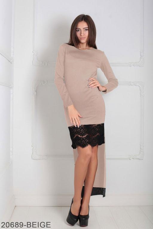 Женское платье Bristol 20689-BEIGE