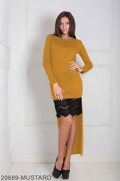 Женское платье Bristol 20689-MUSTARD