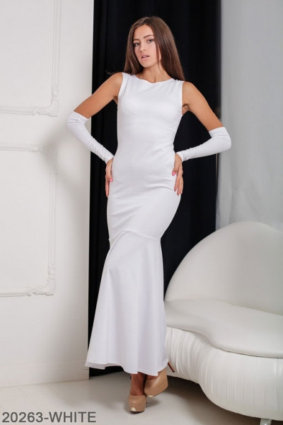 Женское платье Noren 20263-WHITE