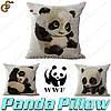 """Наволочки на подушки - """"Panda Pillow """" - 1 шт."""