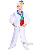 Детский костюм для мальчика Снеговик