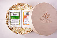 Набор оливкового мыла с тростниковым сахаром Workshop №2. 2х145g. Греция, фото 1