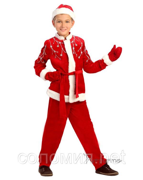 Детский костюм на мальчика на новый год