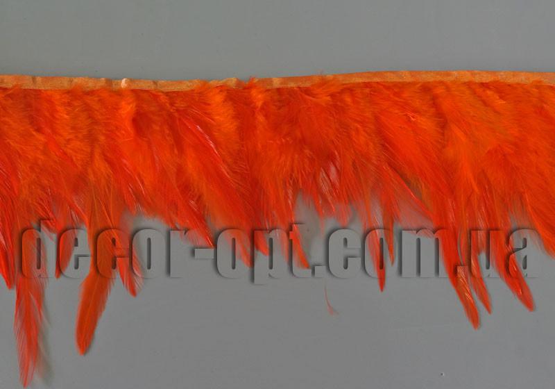 Перо-юбка оранжевая 8-13см/45-47см