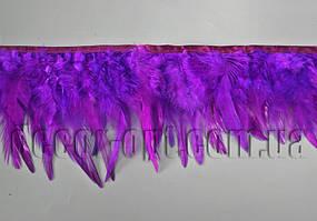 Перо-спідниця фіолетова 8-13см/45-47см
