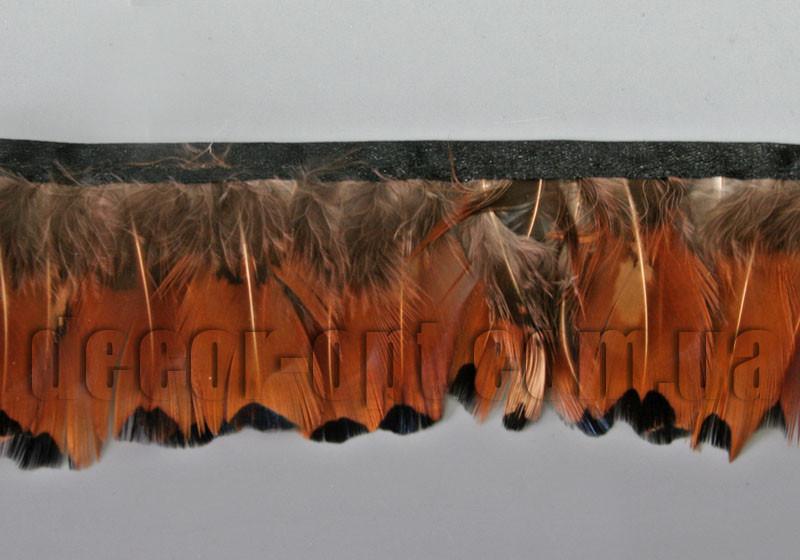 Перо-юбка из натуральных перьев  5-6см/45-47см 04