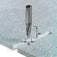 Спиральная пазовая фреза HW с хвостовиком 12 мм HW Spi D12/42 RD ss S12 Festool 492655, фото 1