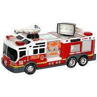 """TOY STATE Спасательная техника """"Пожарная машина"""" со светом и звуком, 13см"""