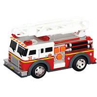 """TOY STATE Спасательная техника """"Пожарная машина с лестницей"""" со светом и звуком, 13см"""