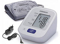 Автоматический тонометр на плечо OMRON M2 Basic NEW веерообразная манжета (22-32см) с адаптером
