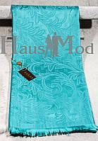 Палантин брендовый  Cucci 9666 голубой