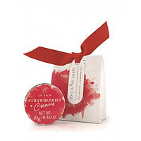 Бальзам для губ увлажняющий и смягчающий Strawberry & Cream, THE SOMERSET TOILETRY COMPANY