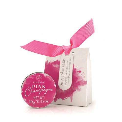 Бальзам для губ увлажняющий и смягчающий Pink Champagne, THE SOMERSET TOILETRY COMPANY