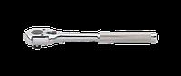 """Трещотка 3/8"""" 32 зуба 200 мм, металлическая ручка"""