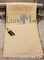 Палантин брендовый  Cucci 9666 Кофейный беж
