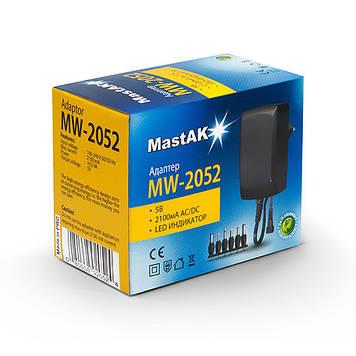 Сетевой блок питания MastAK MW-2052 (5в 2,1А)
