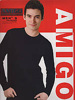 Термокомплект мужской хлопок Amigo, размеры L-3XL, 779