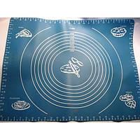 Cиликоновый коврик с разметкой 40 х 50 см