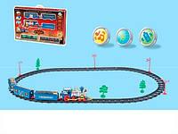 Железная дорога 2310 (24) музыка, свет, 23 дет., на батарейке, в коробке