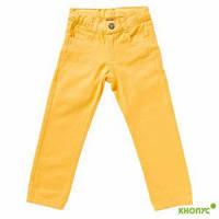 Летние джинсы для девочки (желтые), Girandola
