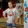 Вышиванка для девочки Веночек цветочек, фото 2