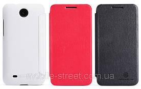 Чехол книжка боковой на HTC Desire 300 Zara Mini, Nillkin Victory V-series