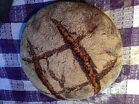Спельтовый Хлеб со льном !