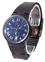 Часы мужские наручные Ulysse Nardin Maxi Marine AAA All Black 1023-0076 AAA copy SK
