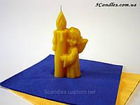 """Форма для свечей """"Ангел со свечой"""""""