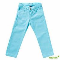 Летние джинсы для девочки (голубые), Girandola