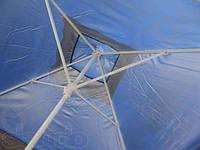 Зонт торговый 3х3 м c клапаном