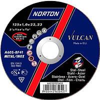 Отрезной  круг Нортон Вулкан 125 x 1 x 22