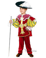 Детский костюм для мальчика Мушкетёр кардинала