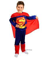 Детский костюм для мальчика Супермен 2