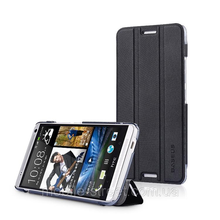 Чохол книжка для HTC ONE MAX бічній, Baseus Folio Case