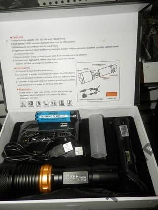 Фонарик подводный BAILONG POLICE BL-8762 30000W