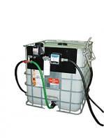 Мобильная заправка для дизельного топлива (дизеля, ДТ), на базе Еврокуба на 1000 литров КИЕВ