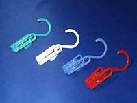 Пластмассовая прищепка с крючком для сушки белья
