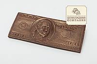"""Шоколадная купюра """"100 долларов"""". Креативный презент на праздник."""