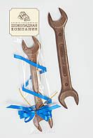 Большой шоколадный гаечный ключ. Креативный подарок мужчине.