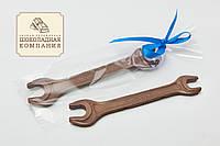 Шоколадный гаечный ключ (средний). Профессиональные подарки для мужчин.