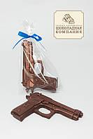 Шоколадный пистолет. Шоколадная фигура для парня