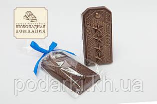 """Шоколадная фигура """"Погон"""". Подарок военному"""