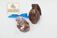 Шоколадная граната. Подарок на мужской праздник.