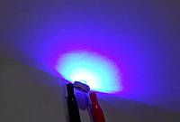 3Вт светодиод 50-60 лм синий 440-445нм