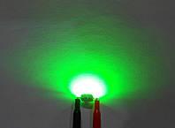 3Вт светодиод 140-160 лм зеленый 525нм